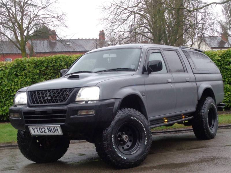 Mitsubishi L200 2 5 TD 4Life Double Cab 4 Life***MONSTER TRUCK + LOOKS  AWESOME* | in Yardley, West Midlands | Gumtree