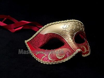 Popular Mens Unisex Masquerade Mask Costume Dressup Prom Wedding Party eye Mask (Popular Costumes For Men)