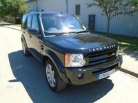 2009 (09) LAND ROVER DISCOVERY 3 2.7TD V6 DIESEL AUTOMATIC HSE SAT NAV 7 SEATS