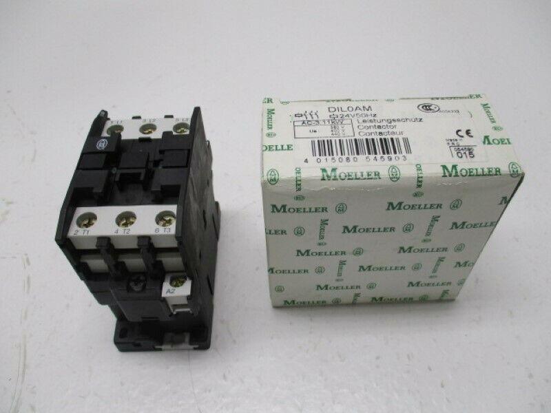 KLOCKNER MOELLER DIL0AM CONTACTOR 24V * NEW IN BOX *