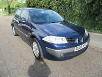 2006 RENAULT MEGANE 1.6 VVT DYNAMIQUE MANUAL PETROL 5 DOOR HATCHBACK