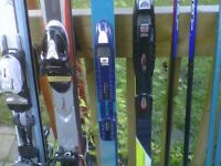 Ski equipment package