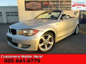 2008 BMW 1 Series 128i  LEATHER, AUTO, HEATED SEATS, POWER GROUP