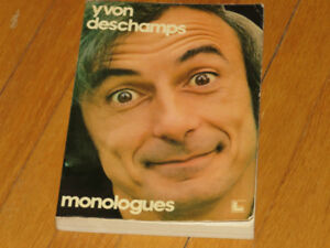 MONOLOGUES     -  HUMOUR---  ***       YVON DESCHAMPS
