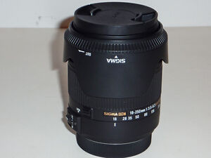 Sigma 18-250mm F3.5-6.3 DC MACRO HSM Lens for Sony A mount