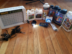 Grow equipment (everything needed first time)