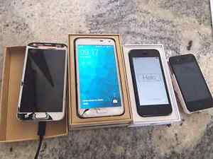 UNLOCKED CRACKED  PHONES FOR SALE