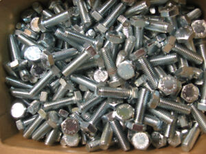 M8mm galvanized bolts and nuts, different lengths, from 6 cents