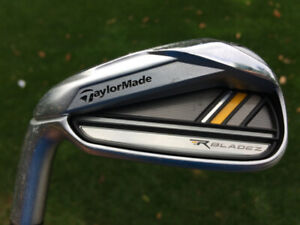 Left Hand TaylorMade R Blade Z irons