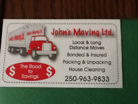 John's Moving for your moving needs