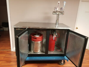True Kegerator - 2keg - 2 Tap Unit