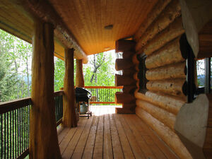 Spectacular Custom Built Pioneer Log Home in 150 Mile House Williams Lake Cariboo Area image 9