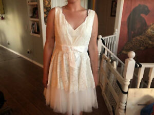 REAL Kate Spade Antoinette Wedding Dress