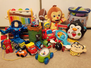 Assortment of Toddler Toys