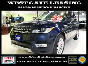2014 Land Rover Range Rover Sport 5.0L SUPERCHARGED   NO ACCIDEN