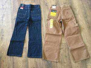 Boys Carhardts and jeans