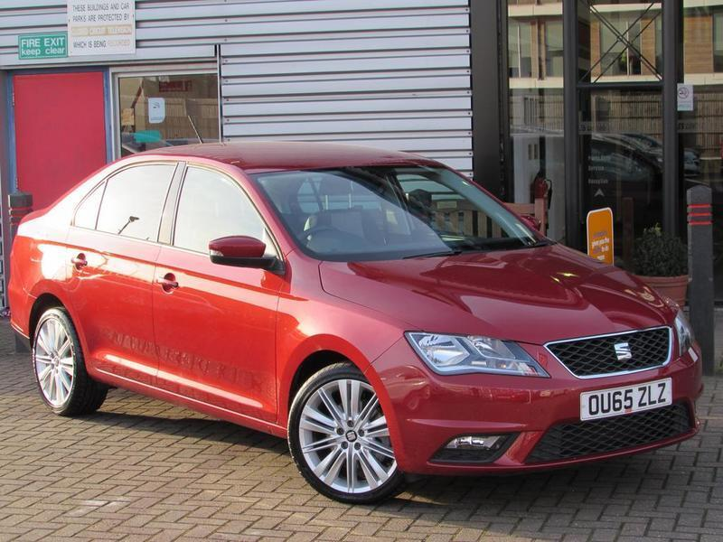 seat toledo 1 6 tdi 115 style advanced 5 door red 2015 in aylesbury buckinghamshire gumtree. Black Bedroom Furniture Sets. Home Design Ideas