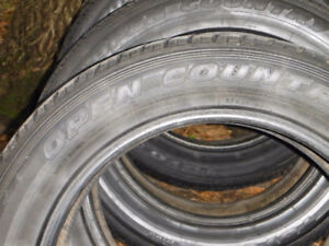 4 - Toyo Open Country Tires - 19 inches (No rims)