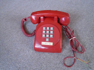 Rare 1967 Northern Electric 1500 round plate 10-button phone