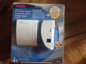 RCA wireless phone jack system brand new in box