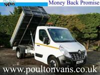"""2016 (16) RENAULT MASTER CCML35 RWD 10'9"""" ALLOY SIDED DROPSIDE TIPPER PICK UP"""