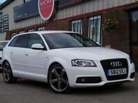 2012 Audi A3 2.0 TDI Black Edition Sportback 5dr 5 door Hatchback