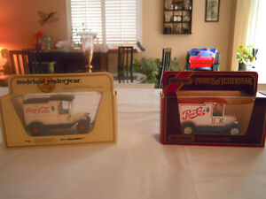 Matchbox - Coca-Cola and Pepsi - Models of Yesteryear