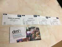 3x The Full Monty tickets 11 March 2017