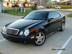 WANTED TO TRADE, 17'' MERCEDES CLK  AMG WHEELS &TIRES