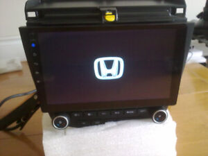 honda accord dual zone ac controls gps android wifi bt mp5 audio