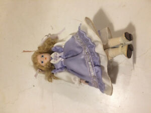 Collectable Doll on a stand