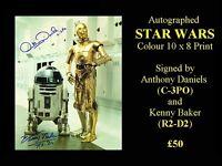 Autographed STAR WARS 10 x 8 Print