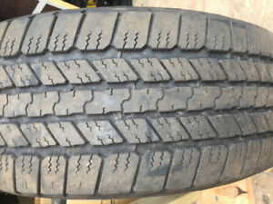 Selling 4 275/55r20 Goodyear tires
