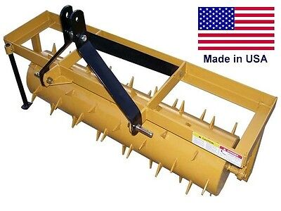 Photo 4 FT INDUSTRIAL 3 Point Aerator Drum - Category 1 -  Commercial - HEAVY DUTY