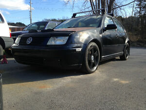 2002 Volkswagen Jetta GLS, Lowered, 5 Speed, Leather, Sunroof