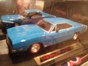 1968 Dodge Charger RT Blue - Dimension 4 Hot Pursuit Collect1:43 Sarnia Sarnia Area image 8