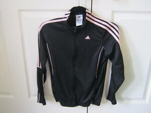 Girls Adidas warm up jacket