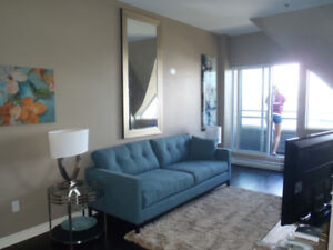 Furnished One Bedroom with Small Balcony and Exceptional View