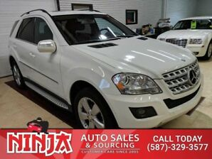 2010 Mercedes Benz M-Class ML 350 4 Matic Appearance And Premium Packages