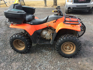 Looking to trade for a dirt bike.