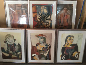 Picasso Reproduction wall art/pictures/frames