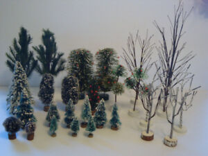 RESERVED  Christmas Village Tree Accessories