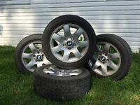 BMW Stock Rims + Tires