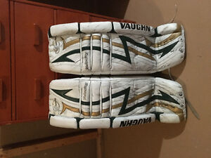 Vaughn V3 pads 35+2, reebok P3 gloves