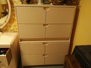 Two Hand built dresser drawers