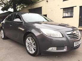 2010 60 Vauxhall Insignia 2.0CDTi 16v (160) Exclusiv 6 Speed 5 Door Met Grey