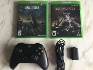 Manette, piles rechargeable, Shadow of War, Final Fantasy…