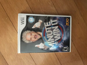 Nintendo Wii games (played once or twice) incl Minute to Win It