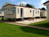 Family caravan for hire at Butlins minehead