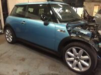 Mini Cooper s breaking R50 R52 supercharged 1.6 petrol